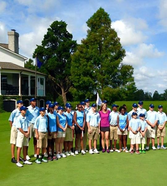 First Tee Group at True Blue
